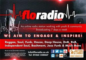 Flo Radio - A4 Promo Poster