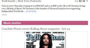 rolling stone magazine mix bag of music show dj niceness floradio godfrey fletcher inna groove